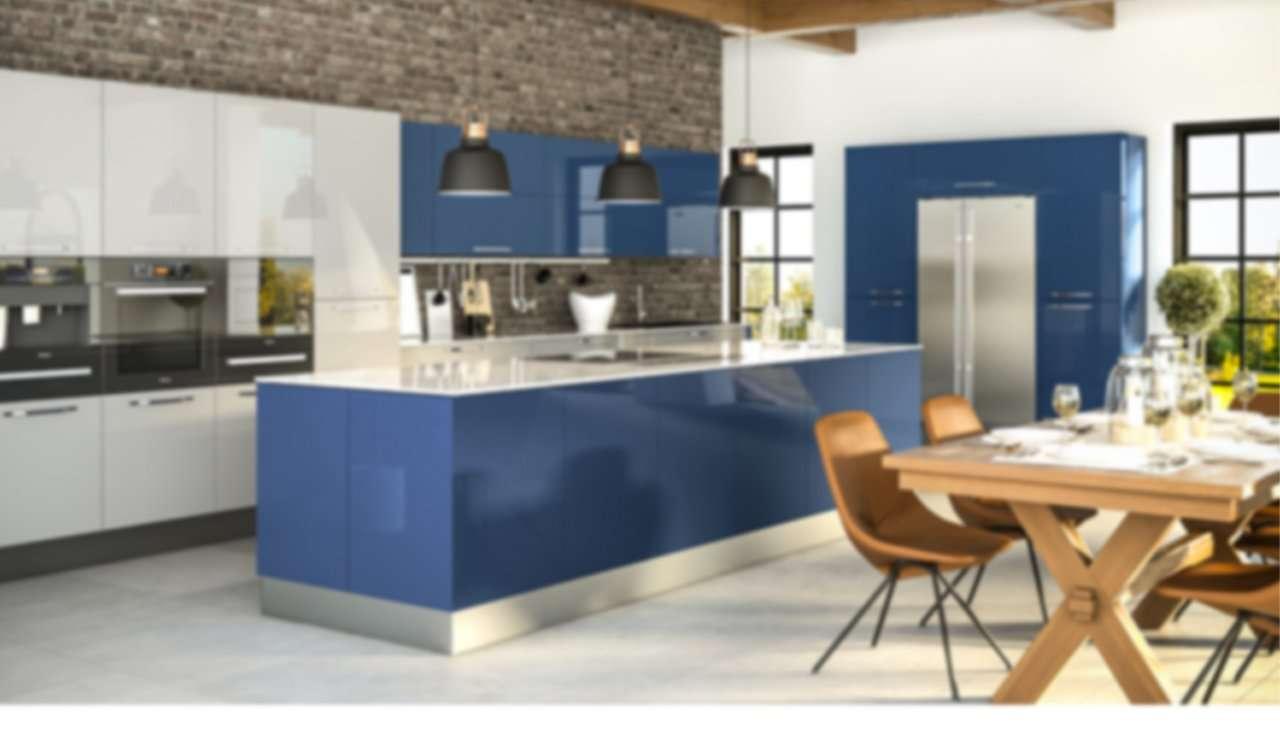 cocina azul maihue
